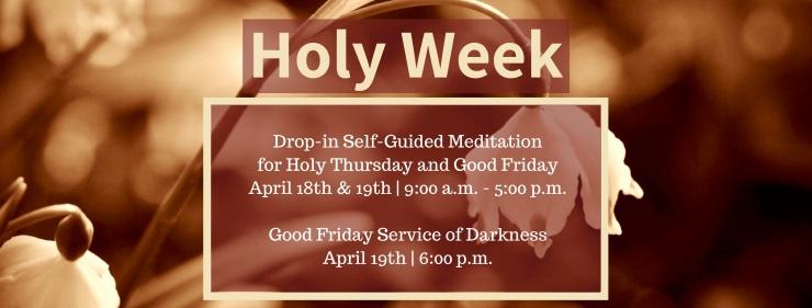 Holy Week FB Header