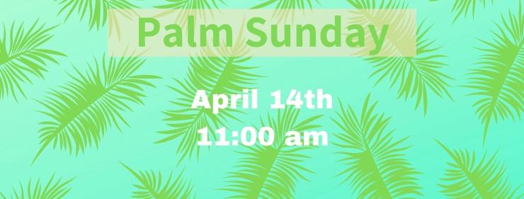 Palm Sunday FB Header