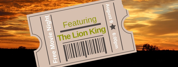 Free Movie Night Lion King